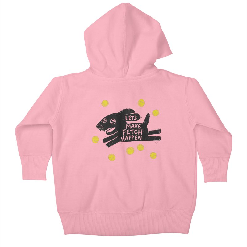 Fetch Kids Baby Zip-Up Hoody by Jayme T-shirts