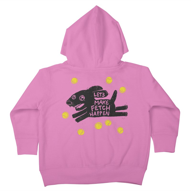 Fetch Kids Toddler Zip-Up Hoody by Jayme T-shirts