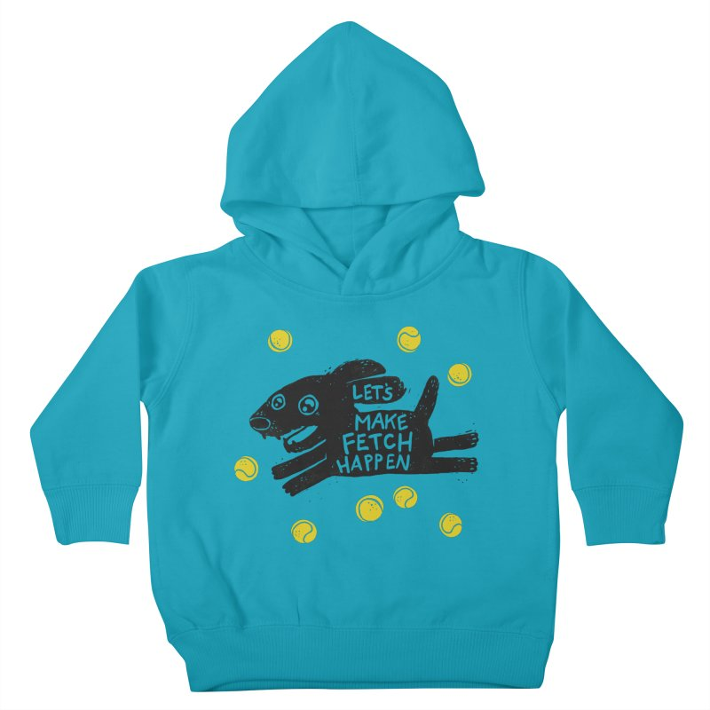 Fetch Kids Toddler Pullover Hoody by Jayme T-shirts