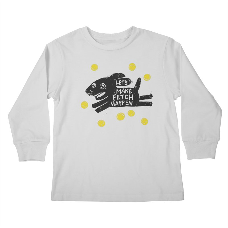 Fetch Kids Longsleeve T-Shirt by Jayme T-shirts