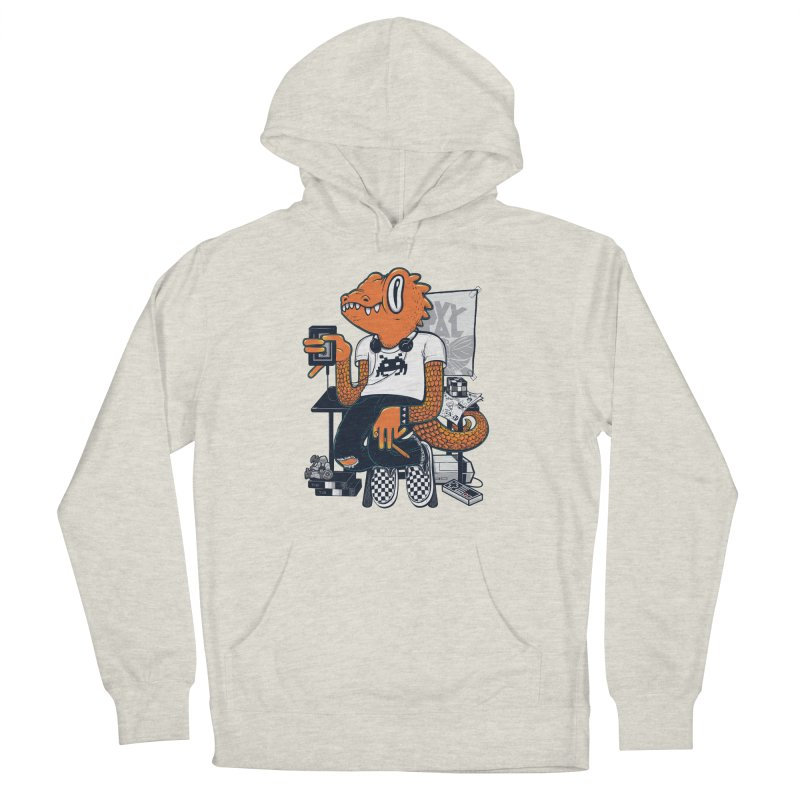 Retro Raptor Men's Pullover Hoody by Jayme T-shirts