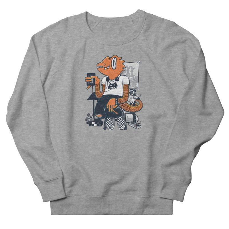 Retro Raptor Men's Sweatshirt by Jayme T-shirts