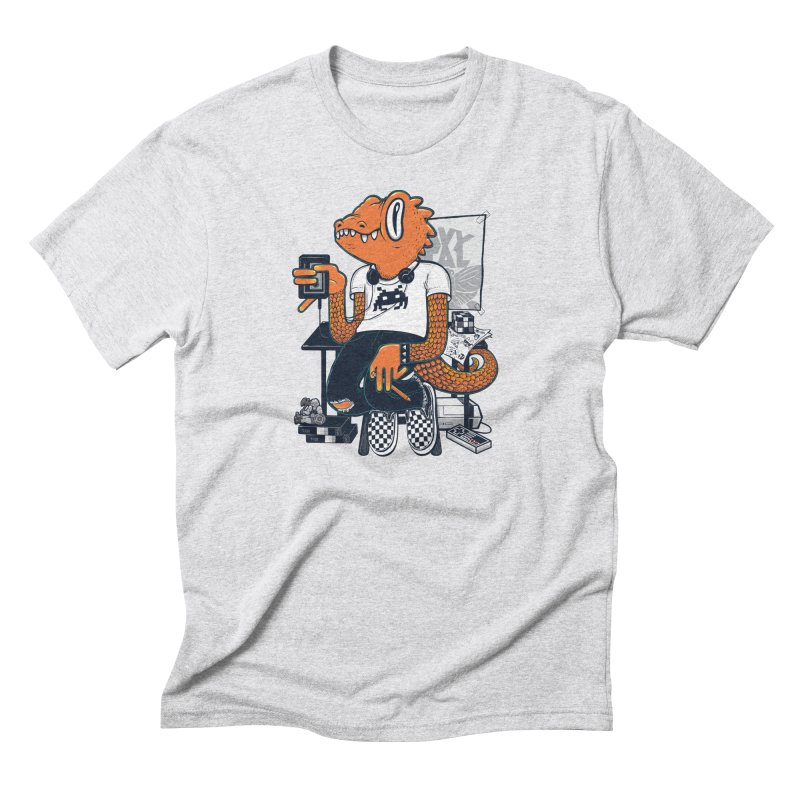 Retro Raptor Men's Triblend T-Shirt by Jayme T-shirts