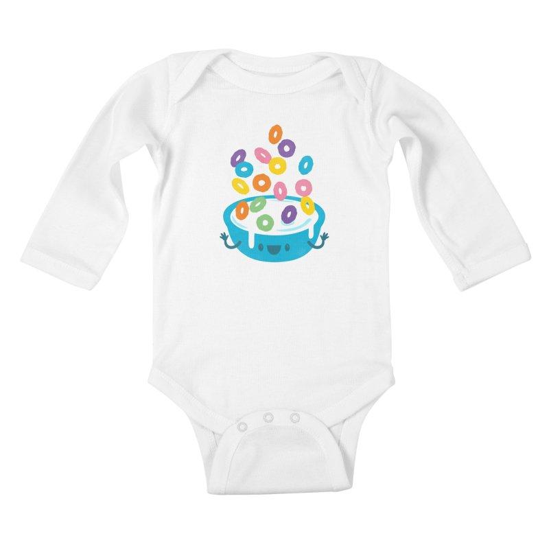 Good Morning Kids Baby Longsleeve Bodysuit by Jayme T-shirts