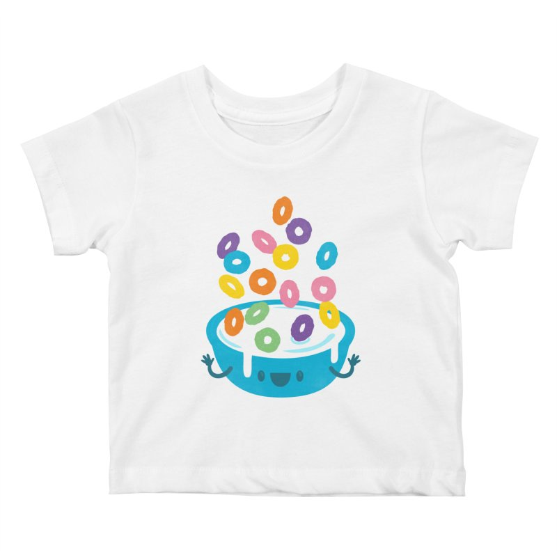Good Morning Kids Baby T-Shirt by Jayme T-shirts