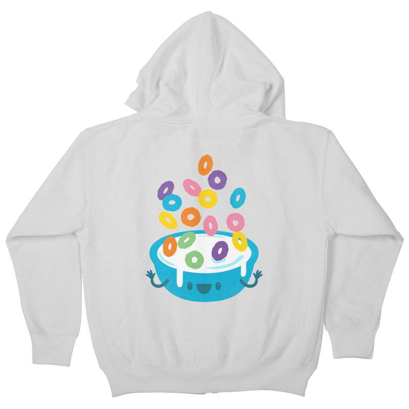 Good Morning Kids Zip-Up Hoody by Jayme T-shirts