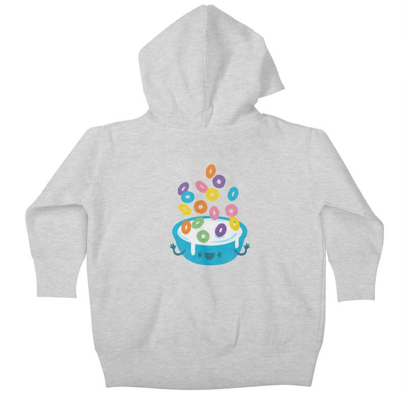 Good Morning Kids Baby Zip-Up Hoody by Jayme T-shirts