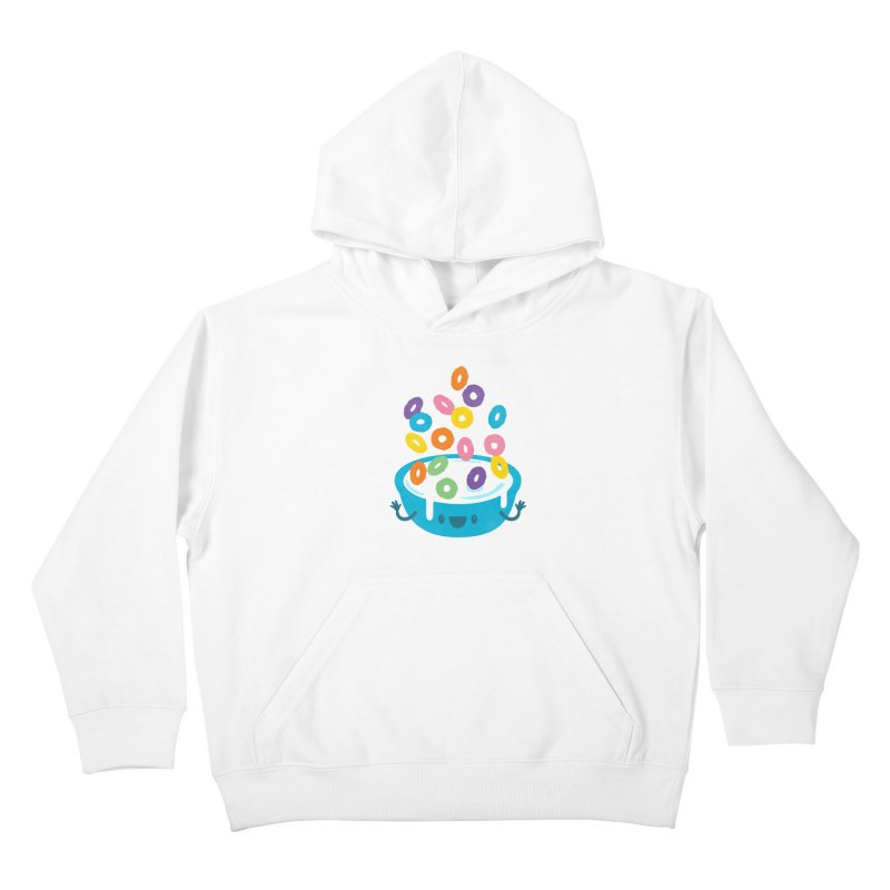 Good Morning Kids Pullover Hoody by Jayme T-shirts