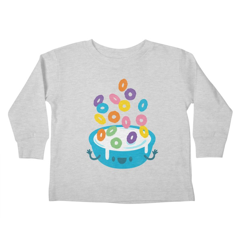 Good Morning Kids Toddler Longsleeve T-Shirt by Jayme T-shirts