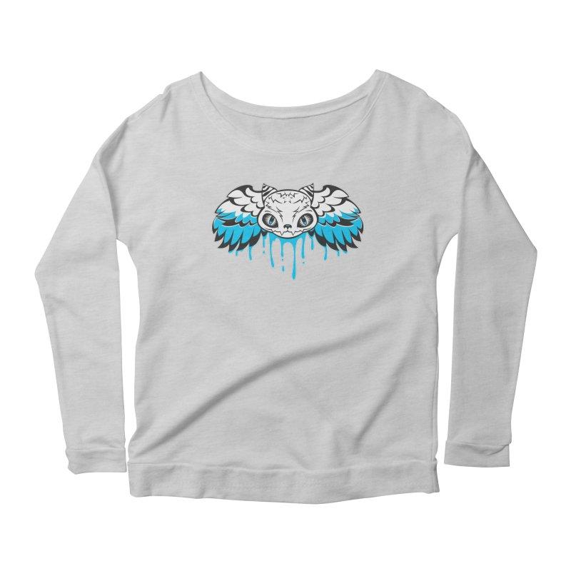 Magic Cat Women's Longsleeve Scoopneck  by Jayme T-shirts