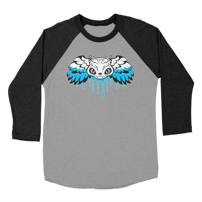 Magic Cat Women's Baseball Triblend T-Shirt by Jayme T-shirts