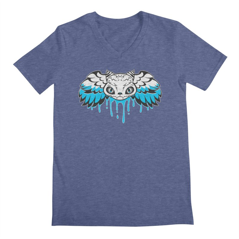 Magic Cat Men's V-Neck by Jayme T-shirts