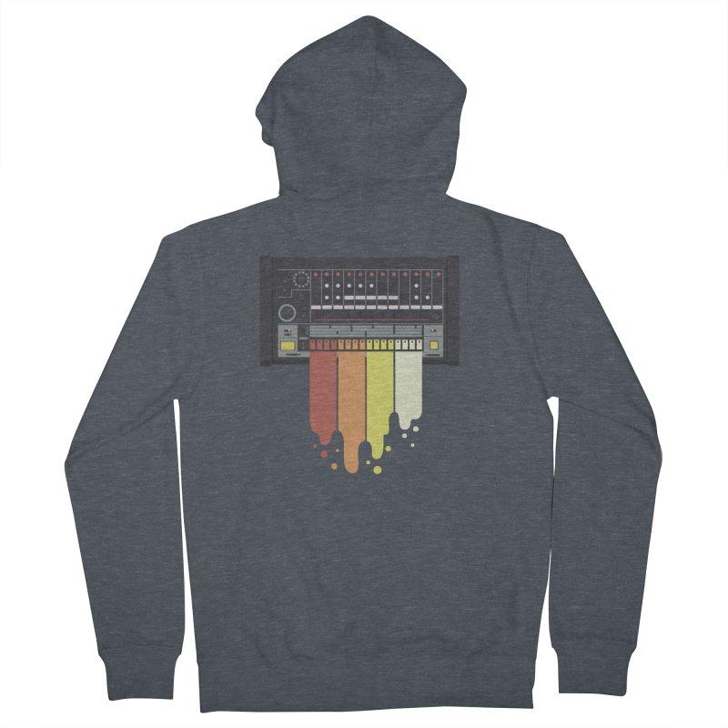 Drum Machine Women's Zip-Up Hoody by Jayme T-shirts