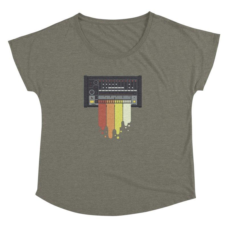 Drum Machine Women's Dolman by Jayme T-shirts