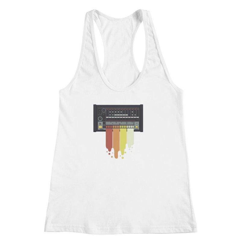 Drum Machine Women's Racerback Tank by Jayme T-shirts
