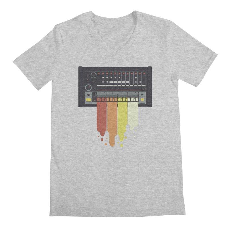 Drum Machine Men's V-Neck by Jayme T-shirts