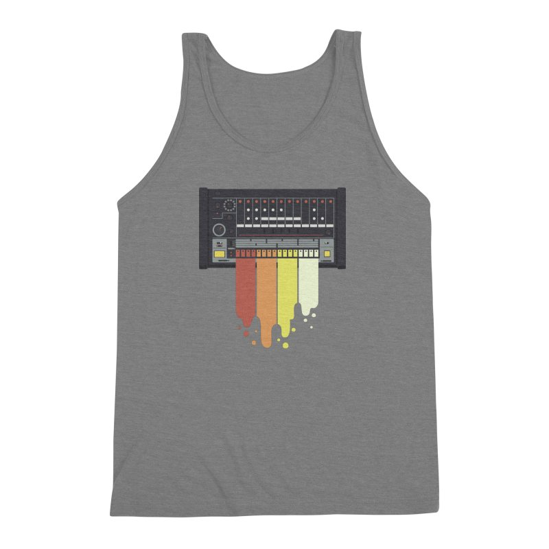 Drum Machine Men's Triblend Tank by Jayme T-shirts