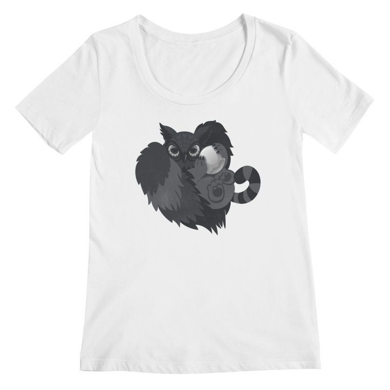Griffin Women's Scoopneck by Jayme T-shirts