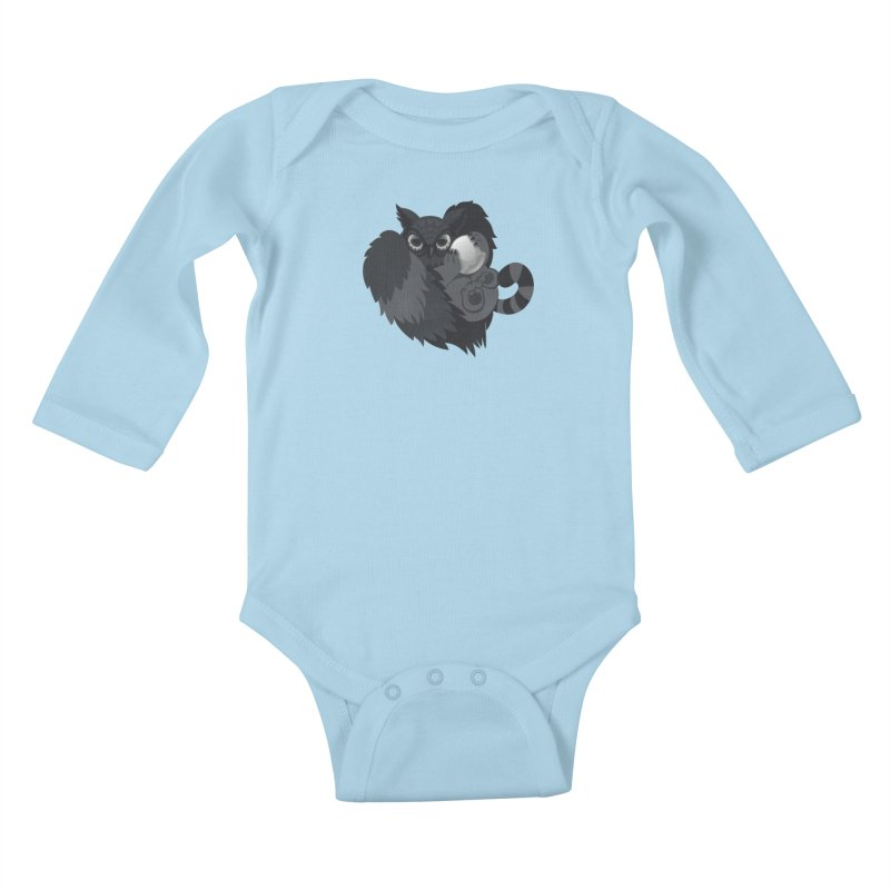 Griffin Kids Baby Longsleeve Bodysuit by Jayme T-shirts