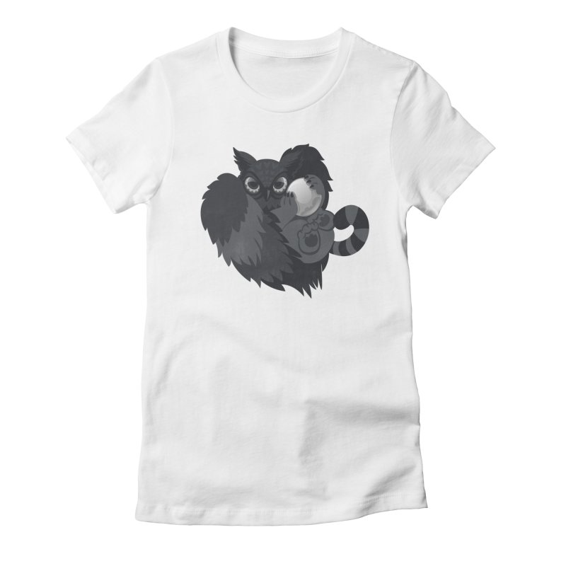 Griffin Women's Fitted T-Shirt by Jayme T-shirts
