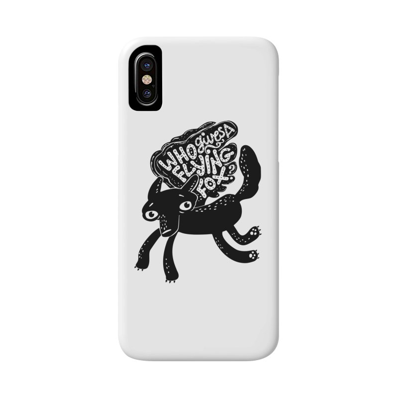 Flying Fox Accessories Phone Case by Jayme T-shirts