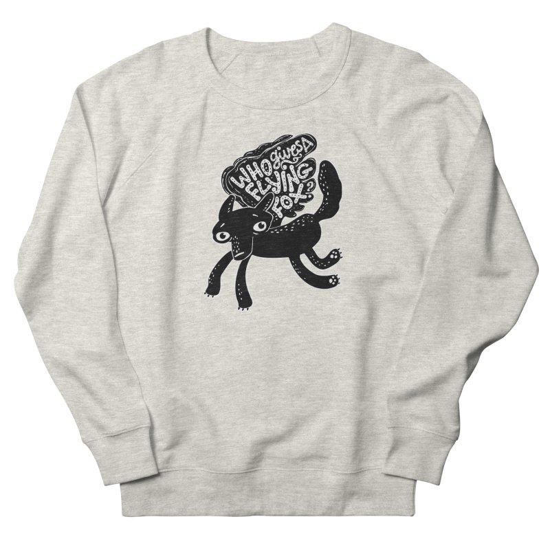 Flying Fox Men's Sweatshirt by Jayme T-shirts