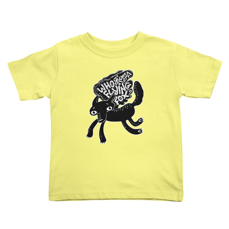 Flying Fox Kids Toddler T-Shirt by Jayme T-shirts