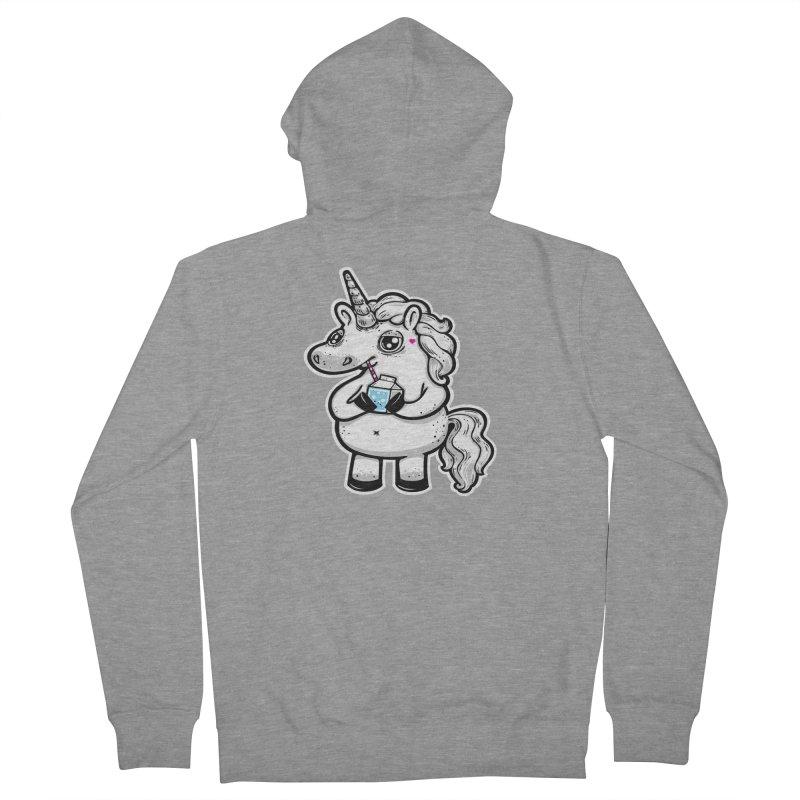 Legend-Dairy Men's Zip-Up Hoody by Jayme T-shirts