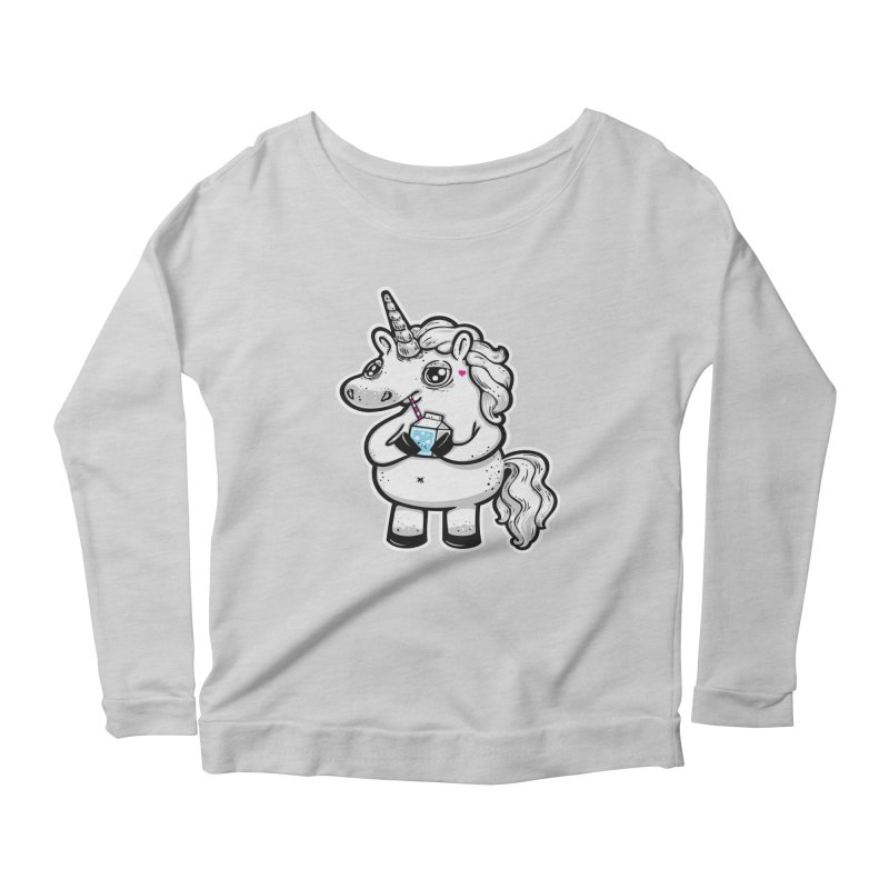 Legend-Dairy Women's Longsleeve Scoopneck  by Jayme T-shirts
