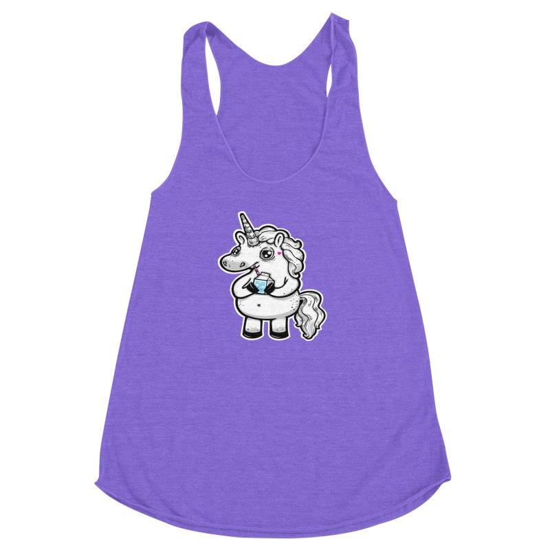 Legend-Dairy Women's Racerback Triblend Tank by Jayme T-shirts