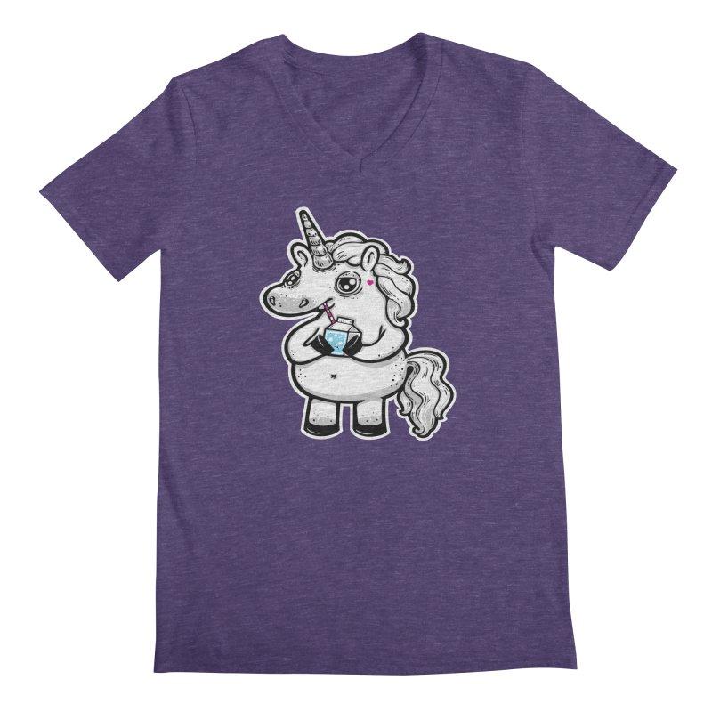 Legend-Dairy Men's V-Neck by Jayme T-shirts