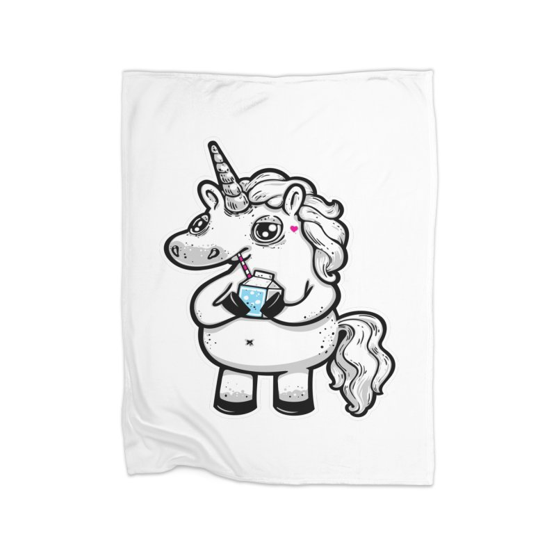 Legend-Dairy Home Fleece Blanket by Jayme T-shirts