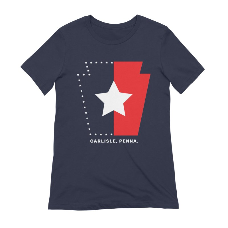 Patriotic Keystone Women's Extra Soft T-Shirt by JayneandJoy's Artist Shop