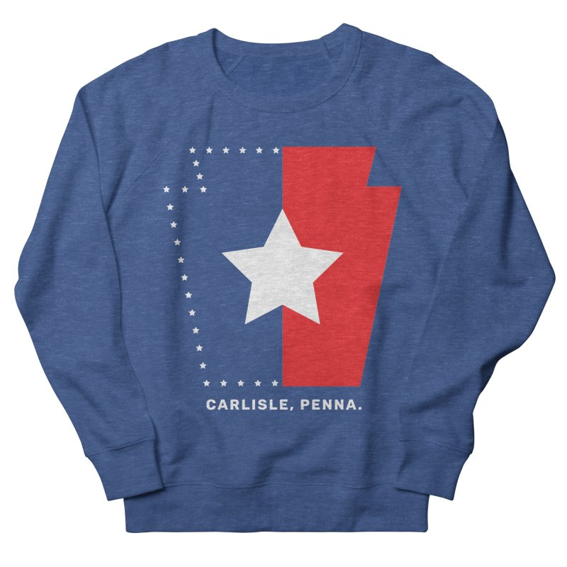Patriotic Keystone Women's French Terry Sweatshirt by JayneandJoy's Artist Shop