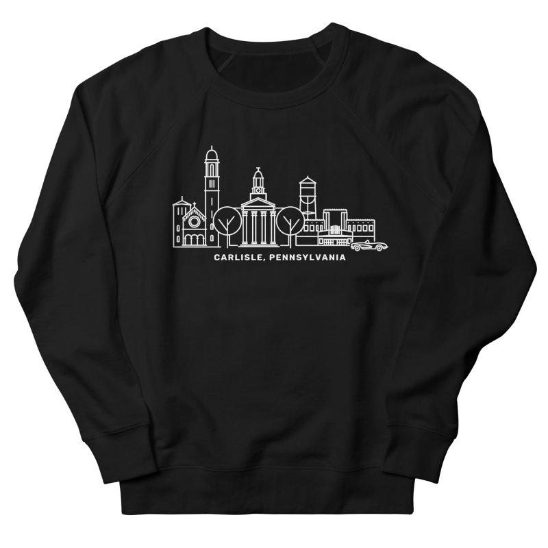 Carlisle, Pennsylvania Downtown Doodle Women's French Terry Sweatshirt by JayneandJoy's Artist Shop