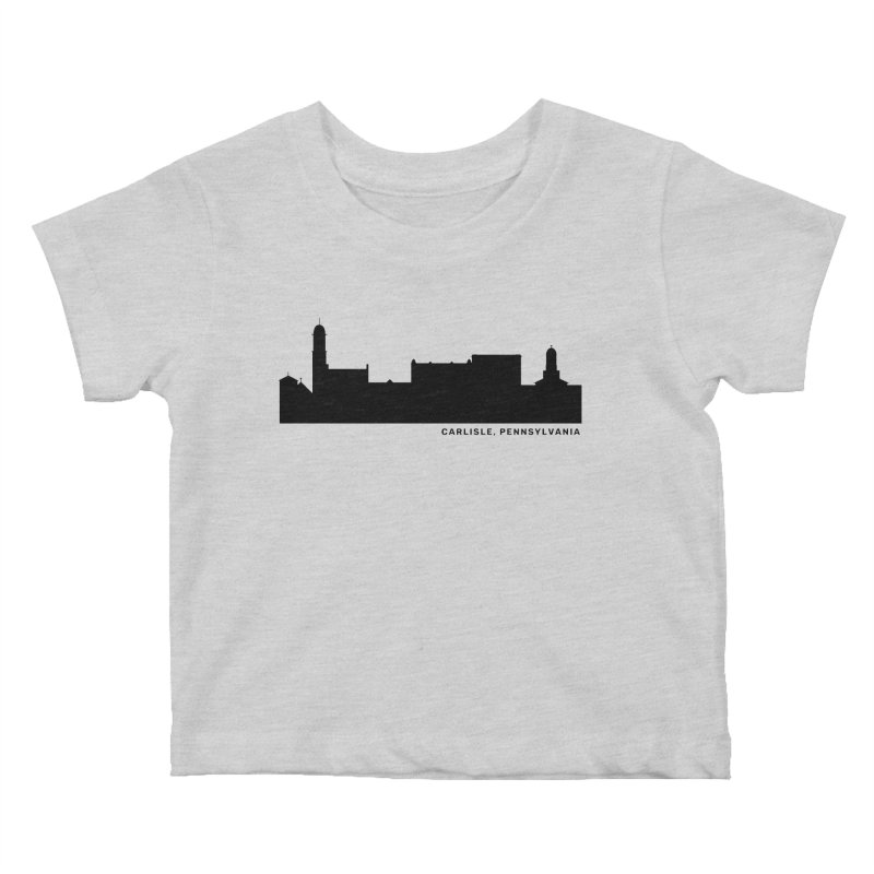 Carlisle, Pennsylvania Skyline Kids Baby T-Shirt by JayneandJoy's Artist Shop