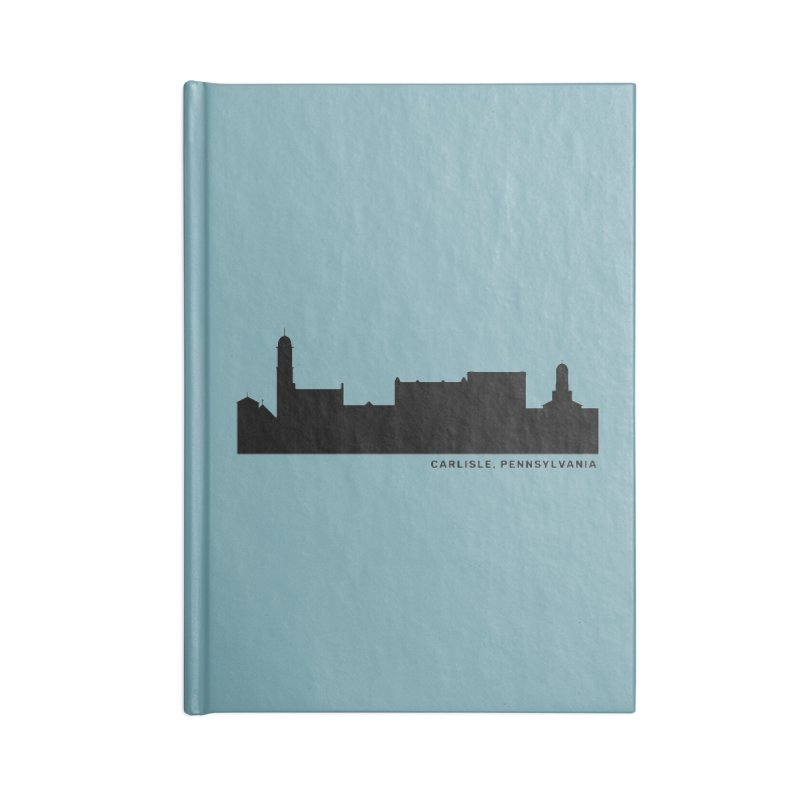 Carlisle, Pennsylvania Skyline Accessories Lined Journal Notebook by JayneandJoy's Artist Shop