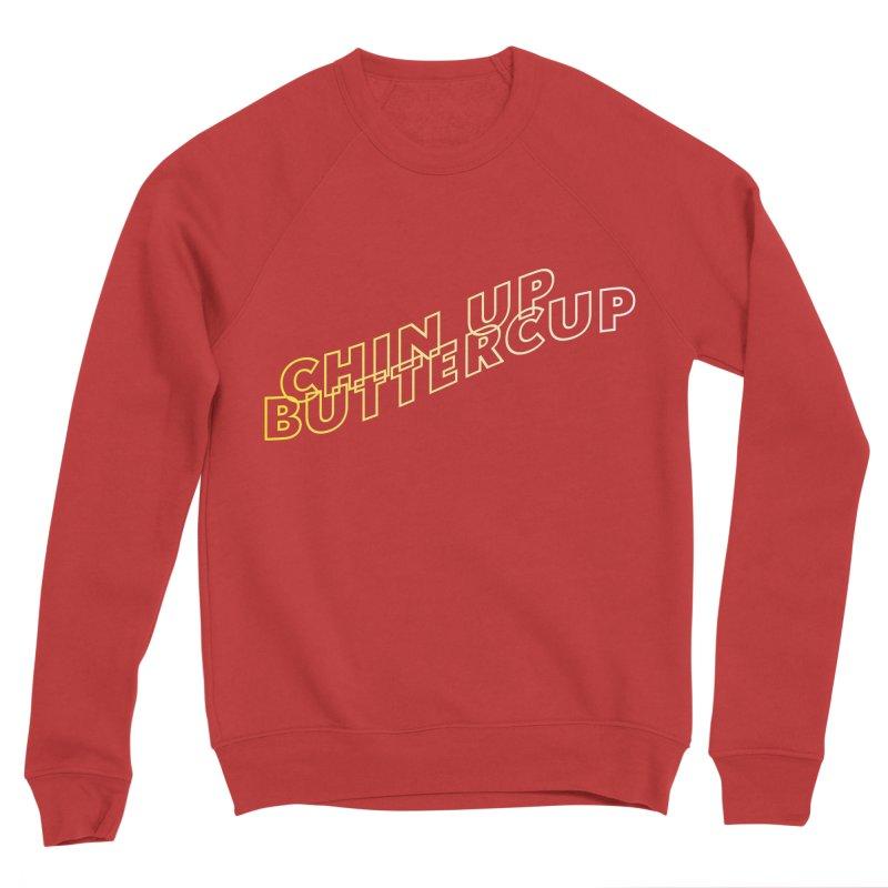 Chin up Buttercup Wavy Women's Sweatshirt by JayneandJoy's Artist Shop
