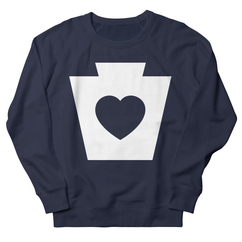 Keystone Heart Women's French Terry Sweatshirt by JayneandJoy's Artist Shop