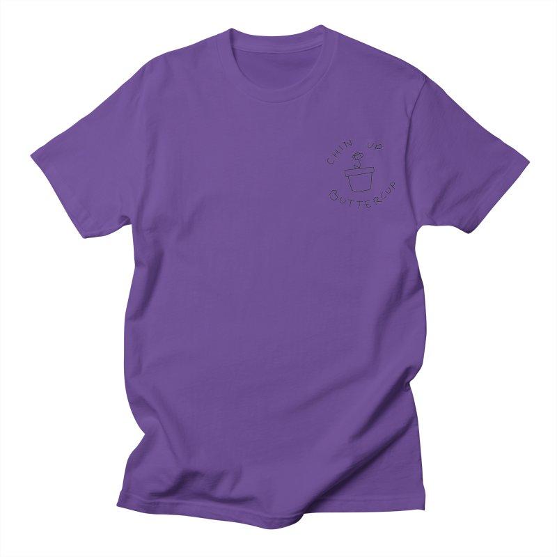 Chin Up Buttercup Tiny Flower Women's Regular Unisex T-Shirt by JayneandJoy's Artist Shop