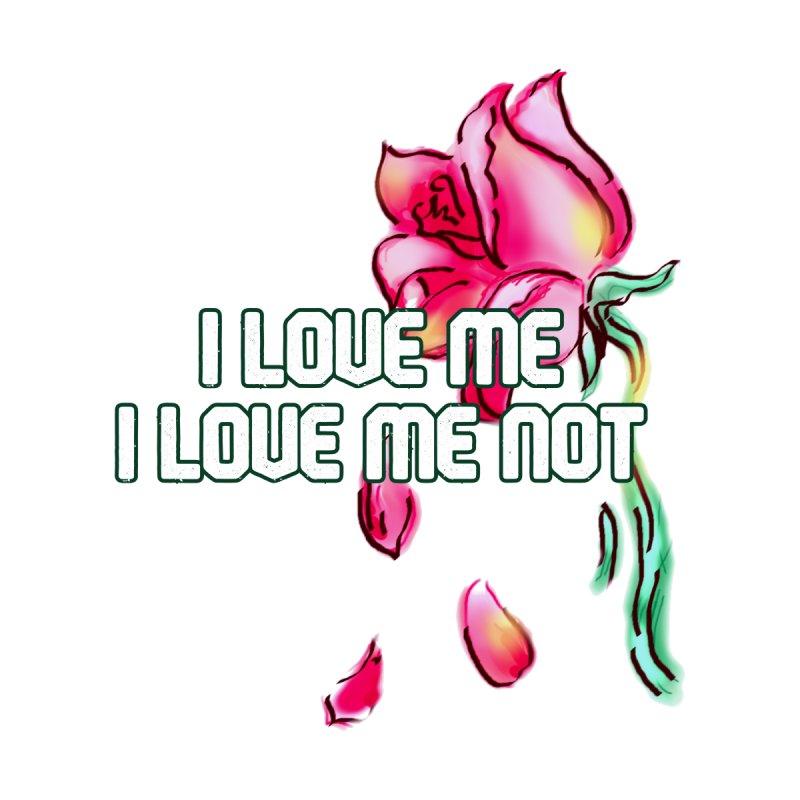 Love Me, Love Me Not Men's T-Shirt by JazzyFrog