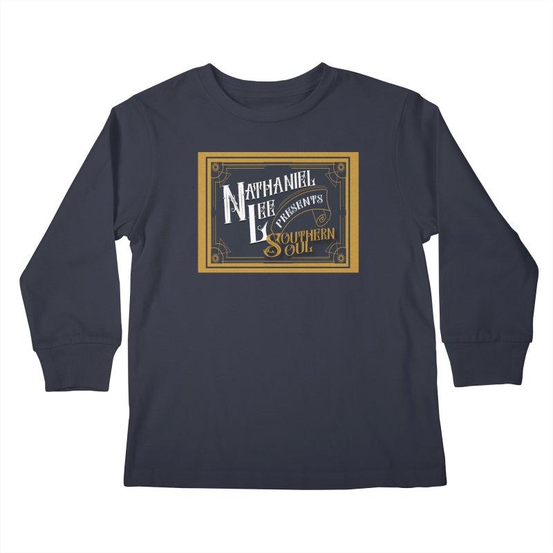 Nathaniel Lee Southern Soul Kids Longsleeve T-Shirt by Jbuck's Artist Shop
