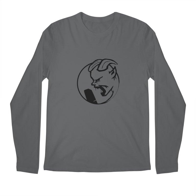 BamBamJack Screaming Demon Men's Longsleeve T-Shirt by Jbuck's Artist Shop