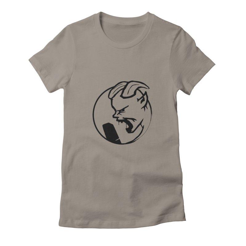 BamBamJack Screaming Demon Women's T-Shirt by Jbuck's Artist Shop