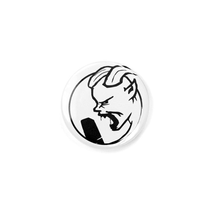 BamBamJack Screaming Demon Accessories Button by Jbuck's Artist Shop