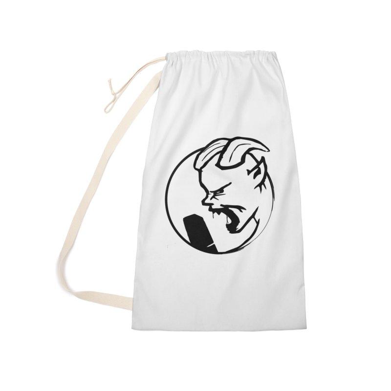 BamBamJack Screaming Demon Accessories Bag by Jbuck's Artist Shop
