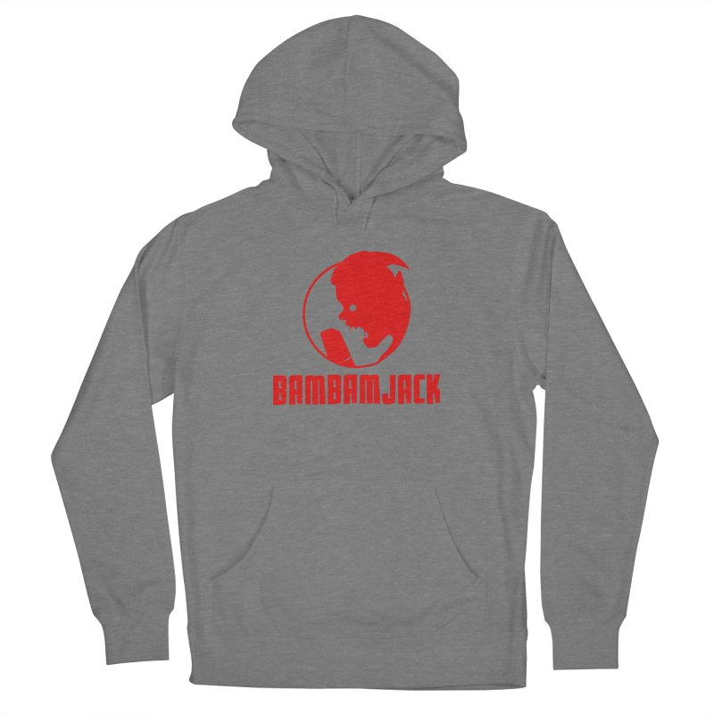 BamBamJack Screaming Demon with Tagline Women's Pullover Hoody by Jbuck's Artist Shop
