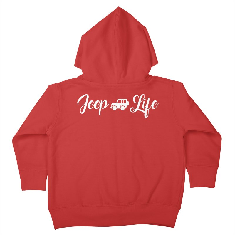 Jeep Life Kids Toddler Zip-Up Hoody by JeepVIPClub's Artist Shop