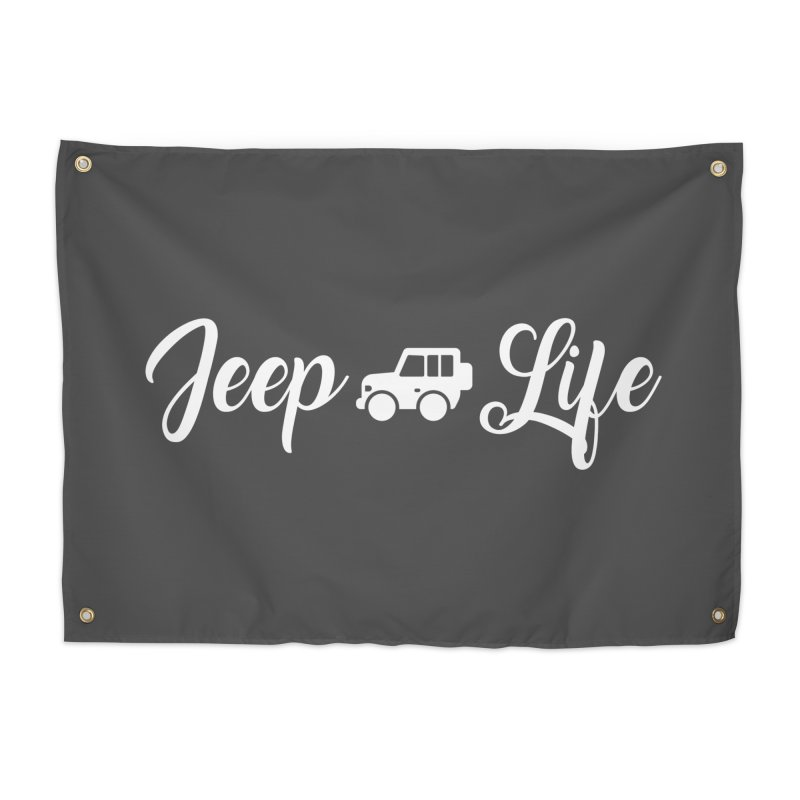 Jeep Life Home Tapestry by JeepVIPClub's Artist Shop