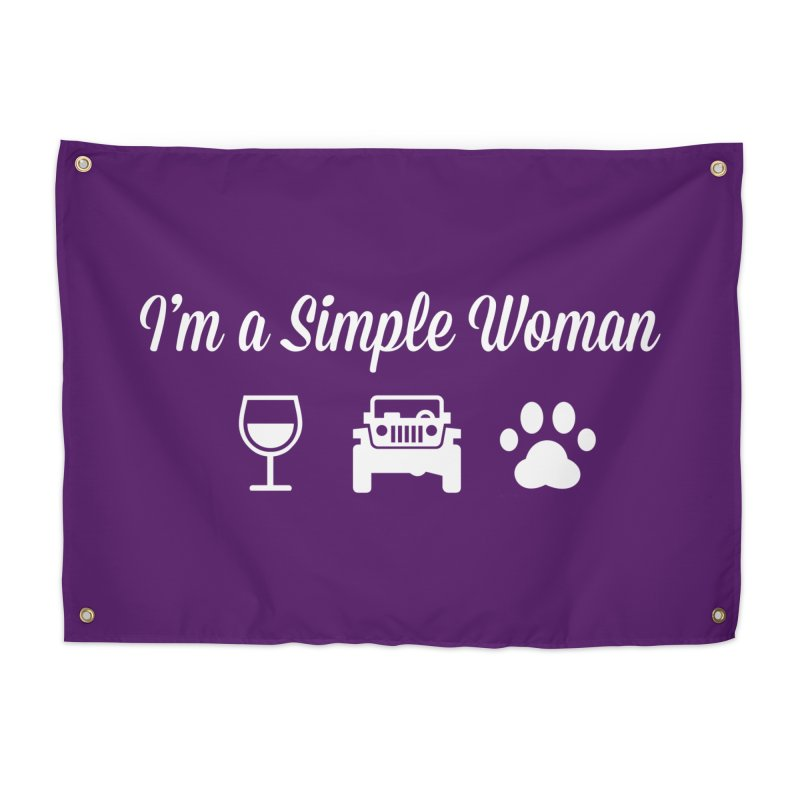 I'm a Simple Woman Home Tapestry by JeepVIPClub's Artist Shop